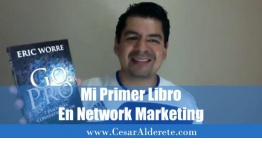 Mi primer libro en Network Marketing